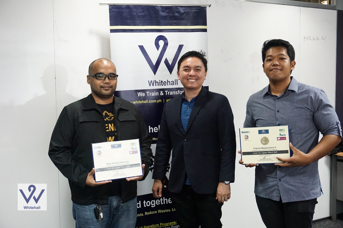 The philippines gains two new reputable certified six sigma the philippines gains two new reputable certified six sigma black belts xflitez Image collections