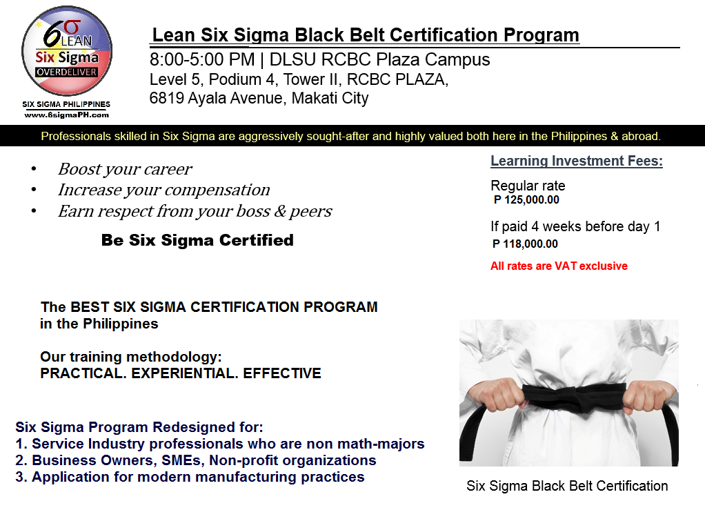 Critical Thought Methodology Six Sigma